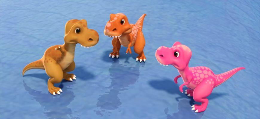 Маленькие динозавры. Лучшие загадки про динозавров для школьников и детей