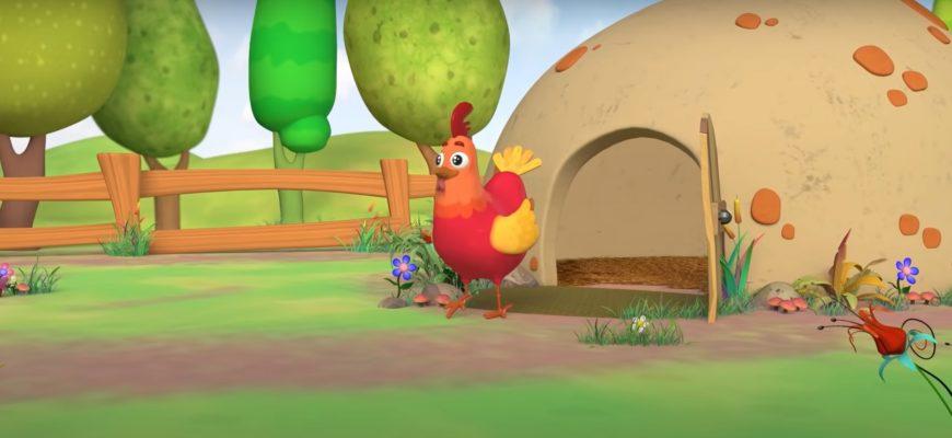 Курица на поляне. Интересные детские загадки про курицу