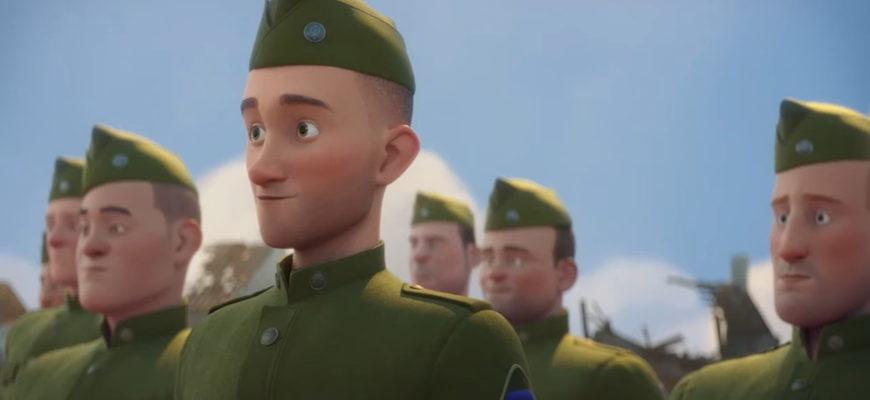 Солдаты мультяшные. Детские загадки про военных