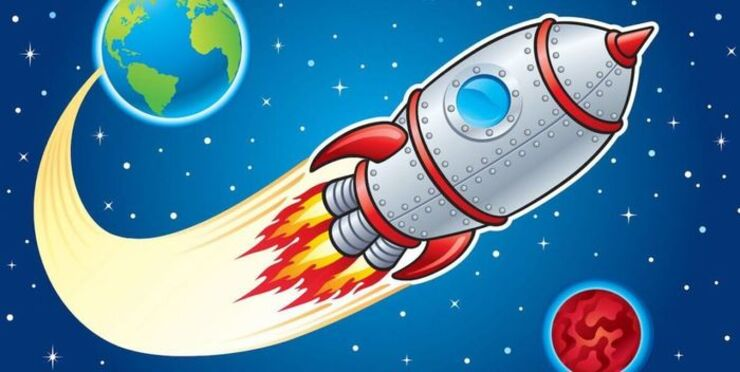 Ракета. Детские загадки про ракету.