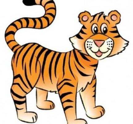 Тигр. Выучить с детьми загадки про тигра.