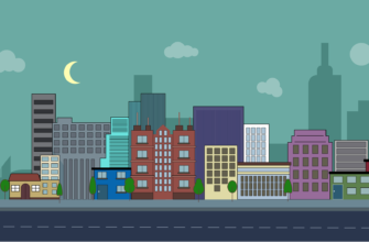 Улица с домами. Коллекция загадок про город