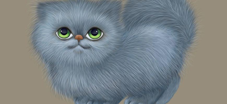 Очаровательный котик. Коллекция загадок про котенка