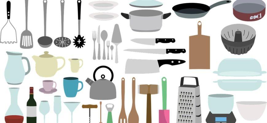 Кухонный принадлежности. Коллекция загадок про домашнюю утварь