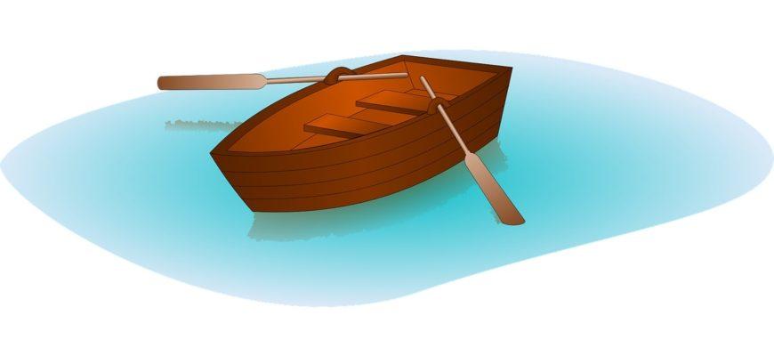 Лодка с веслами. Подборка детских загадок про лодку