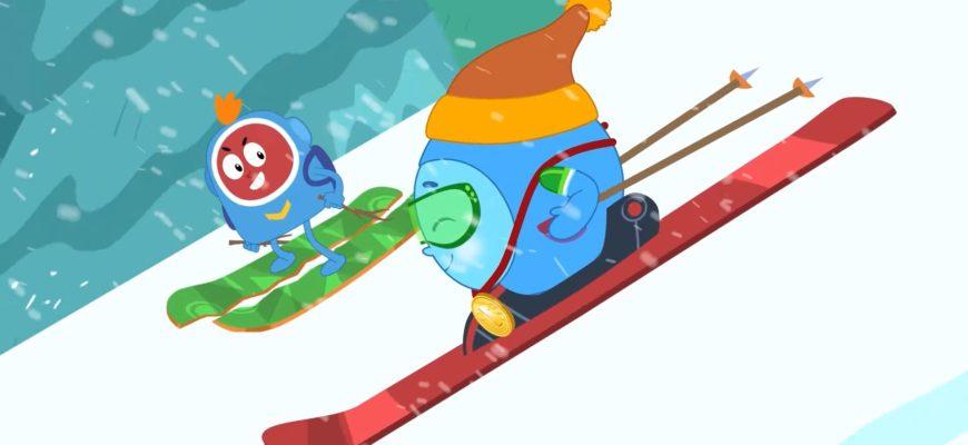 Лыжи. Подборка загадок про зимние виды спорта