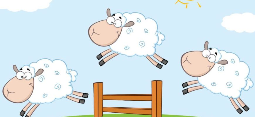 Овечки прыгают через забор. Загадки про овцу.