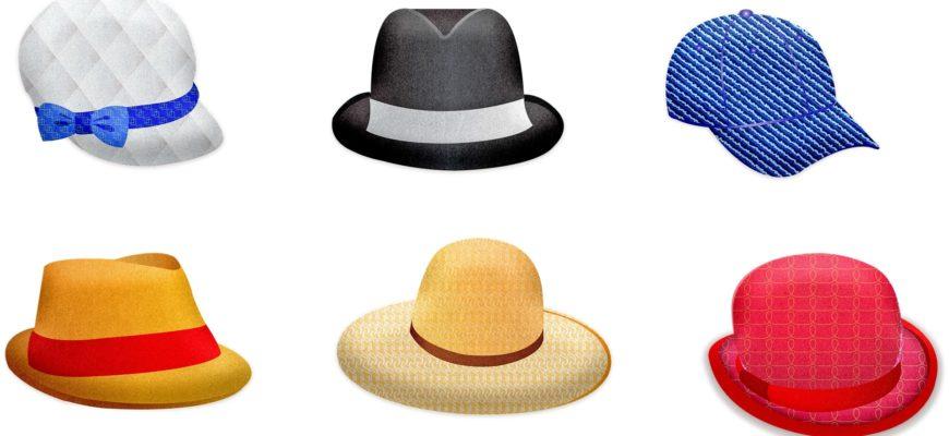 Шляпки, берет и бейсболка. Отгадать загадки про головные уборы