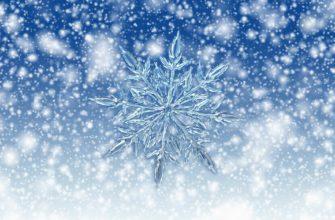 Снежинка и снег. Подборка загадок про мороз