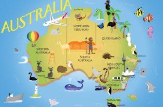 Австралия. Географические загадки про Австралию для детей.
