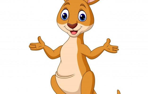 Маленький кенгуру. Интересные детские загадки про кенгуру.