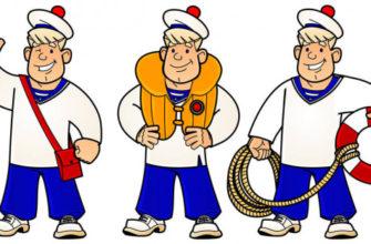 Моряки. Детские загадки про моряка.