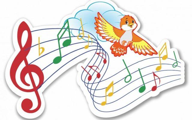 Птичка и ноты. Увлекательные головоломки про ноты.