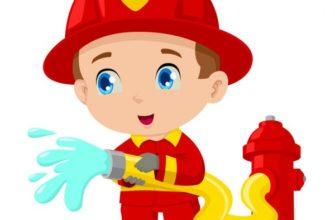 Маленький пожарный. Как обучить ребенка пожарной безопасности.