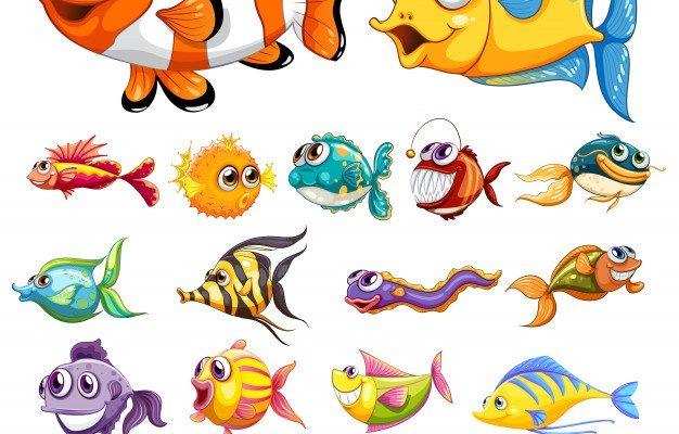 Красивые рыбки. Как выучить с ребенком разные виды рыб.