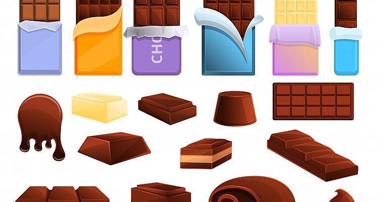 Шоколадки разного вкуса. Интересные загадки про шоколад.