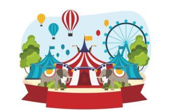 Цирк. Интересные головоломки для детей.