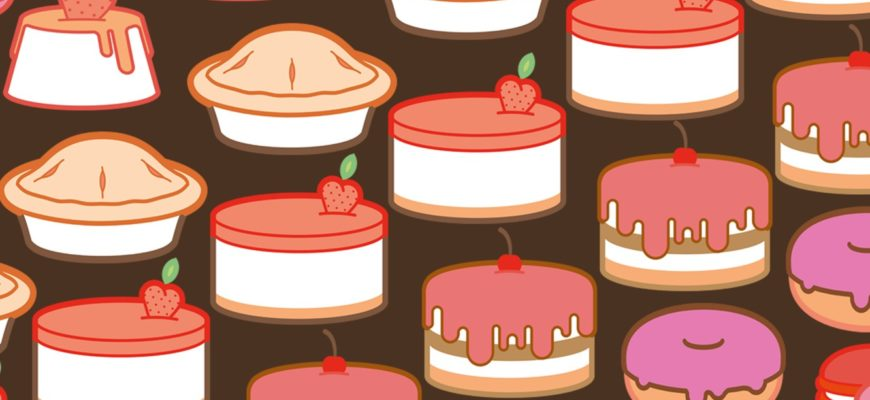 Пироги и торты. Загадки про любимый торт.