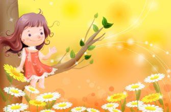 Девочка на дереве. Где найти детские загадки про жизнь