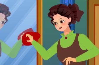 Девушка протирает зеркало. Коллекция загадок про зеркало