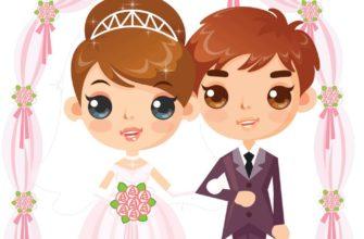 Жених и невеста. Где найти загадки про свадьбу для детей