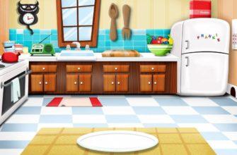 Вид на кухню. Загадки про кухонные предметы.