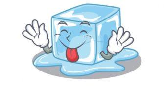 Кусочек льда. Детские головоломки про лед.