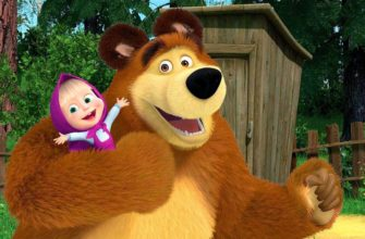 Мультик про Машу и медведя. Загадки про Машу.