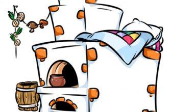 Печка. Детские загадки про печку.