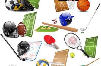 Спортивный инвентарь. Детские головоломки про спортивный инвентарь.